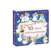 Loewe Pappebuch 10 kleine Weihnachtsengel