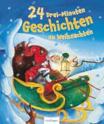 AMIGO 23195 24 Drei Minuten Geschichten bis Weihnachten