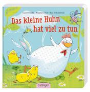 Das kleine Huhn hat viel zu tun, Pappbilderbuch, 16 Seiten, ab 12 Monaten