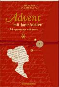 Lesezauber: Advent mit Jane Austen - Briefbuch zum Aufschneiden