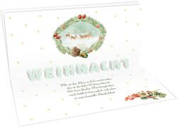 Pop-Up-Büchlein # Zauberhafte Weihnachtszeit (Bastin)