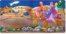 Die Weihnachtsgeschichte - Buch mit Spielkrippe in Geschenk