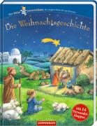 Die Weihnachtsgeschichte - m.Verwandelklappen  Himmelsbote