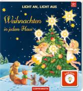 Licht an, Licht aus - Weihnachten in jedem Haus, gebundenes Buch, ab 1 Jahr, 12 Seiten