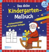 Das dicke Kindergartenmalbuch