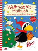 esslinger / Rabe Socke Weihnachtsmalbuch vom kleinen Rabe Socke