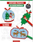 Kärtchen-Malblock Geschenkanhänger Weihnachten 100% selbst gemacht