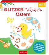 Glitzer-Malblock Ostern