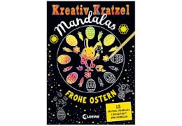Kreativ-Kratzel Mandalas: Frohe Ostern