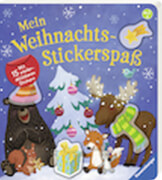 Ravensburger 43822 Mein Weihnachts-Stickerspaß