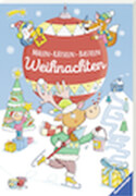Ravensburger 55508 Malen-Rätseln-Basteln: Weihnachten - H19