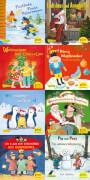 Pixi Weihnachtsserie 34, ABC, Pixi lief im Schnee sortiert (1 Stück)