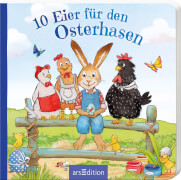 arsEdition, Ostern, 133036, 10 Eier für den Osterhasen. Ab 24 Monate