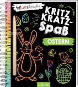 arsEdition, Ostern, 133568, Kritzkratz-Spaß Ostern. Ab 5 Jahre