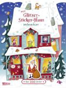 Mein Glitzer-Sticker-Haus: Weihnachten