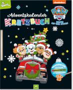 PAW Patrol - Adventskalender Kratzbuch