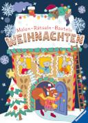 Ravensburger 48993 Malen - Rätseln - Basteln: Weihnachten