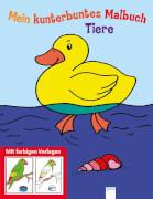 Kunterbuntes Malbuch-Tiere