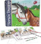 Depesche 7820 Horses Dreams Malbuch