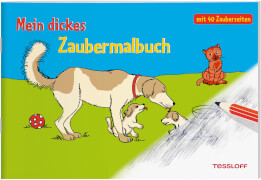 Tessloff  Mein dickes Zaubermalbuch