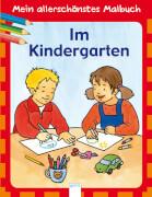 ARENA 9842 Mein allerschönstes Malbuch - Im Kindergarten