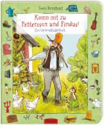 Komm mit zu Pettersson und Findus! Ein Wimmelbilderbuch, Pappbilderbuch, 16 Seiten, ab 2 Jahren
