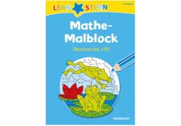 LERNSTERN Mathe-Malblock 2. Klasse. Rechnen bis 100