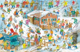 AMIGO 23102 Das Winter-Wimmelbuch