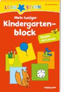 LERNSTERN Mein lustiger Kindergartenblock Spielen und Lernen