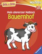 Ravensburger 55789 Mein allererster Malblock: Bauernhof