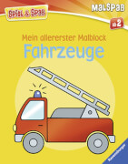 Ravensburger 55790 Mein allererster Malblock: Fahrzeuge