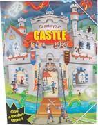 Depesche 7909 Create your Castle - Malbuch mit Stickern