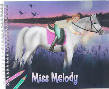 Depesche 5455 Miss Melody Dress up your Horse - Malbuch