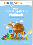 Tessloff Lernstern Mein Kindergarten - Malbuch Symbole, Taschenbuch, 48 Seiten, ab 4 Jahren