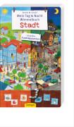 Mein Tag und Nacht Wimmelbuch Stadt, Pappbilderbuch, 10 Seiten, ab 2 Jahren