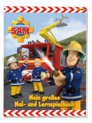 Feuerwehrmann Sam Mal- und Lernspielbuch