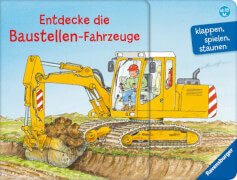 Ravensburger 025480 Entdecke die Baustellen-Fahrzeuge