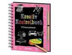 Loewe Kreativ-Kratzelbuch Prinzessinnen