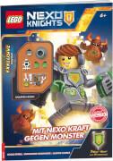 LEGO® Nexo Knights - Mit Nexo-Kraft gegen Monster, mit Minifigur Robo, Taschenbuch, 32 Seiten, ab 6 Jahren
