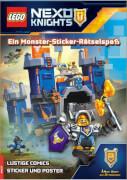 LEGO® Nexo Knights - Ein Monster-Sticker-Rätselspaß, Taschenbuch, 32 Seiten, ab 8 Jahren