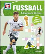 Tessloff WAS IST WAS Rätseln und Stickern: Fußball, Taschenbuch, 24 Seiten, ab 8 Jahren.