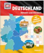 Tessloff WAS IST WAS Rätseln und Stickern: Deutschland