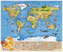 Felix-Weltkarte  mit Ting-Stift nutzbar