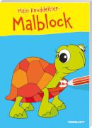 Mein Knuddeltier-Malblock (Schildkröte), Taschenbuch, 48 Seiten, ab 4 Jahren