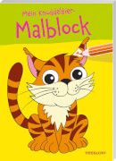 Tessloff Mein Knuddeltier-Malblock. Tiger