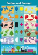 Lernposter Farben Formen