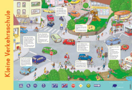 Mein Lernposter: Kleine Verkehrsschule, Poster, ab 5 Jahre