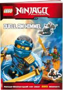 LEGO® NINJAGO - Duell am Himmel, Rätsel-Stickerbuch mit über 220 Stickern, 16 Seiten, ab 6 Jahren