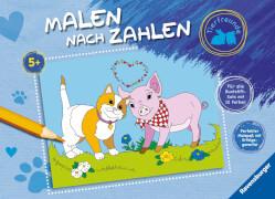 Ravensburger 26135 Malen nach Zahlen Tierfreunde
