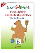 Loewe Lernspielzwerge Mein dicker Konzentrationsblock - Schulstart